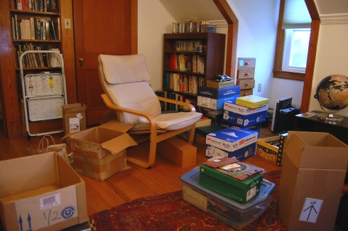 My Studio Before the Movers