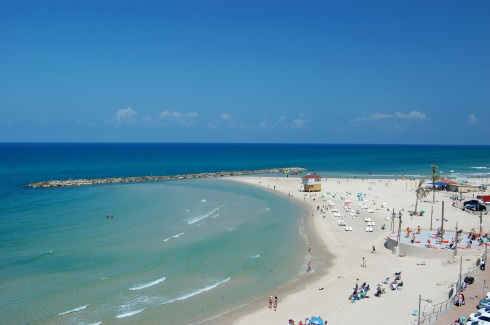 Elevator Beach in Netanya