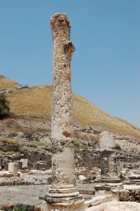 Last Column Standing at Beit She'an