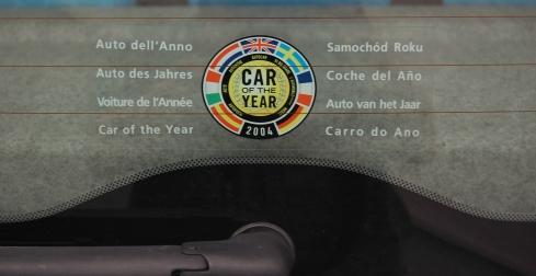 Fiat Panda Car of the Year 2004