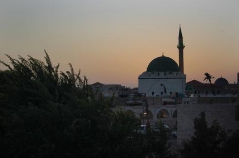 El Jazzar Mosque at Dusk