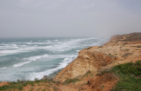View of the Mediterranean from the Cliff Trail