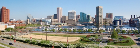 Baltimore Inner Harbor from Federal