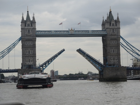 London Bridge as seen from the river bus