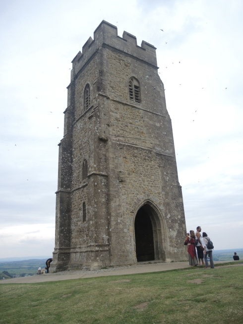 St. Michael's Tower atop Glastonbury Tor