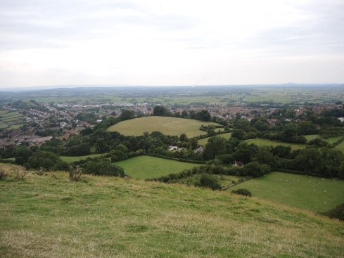 The View from Glastonbury Tor