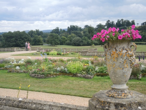 The grounds of Orchardleigh, the wedding reception venue