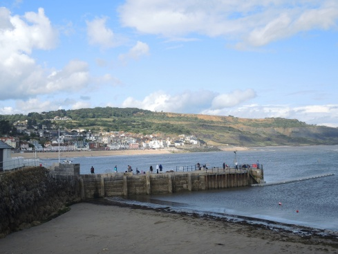 Lyme Regis from the Cobb