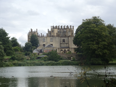 Sherborne Castle, former home of Sir Walter Raleigh
