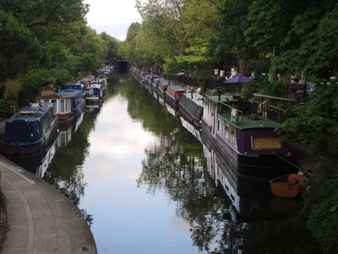 Boats Along Grand Union Canal
